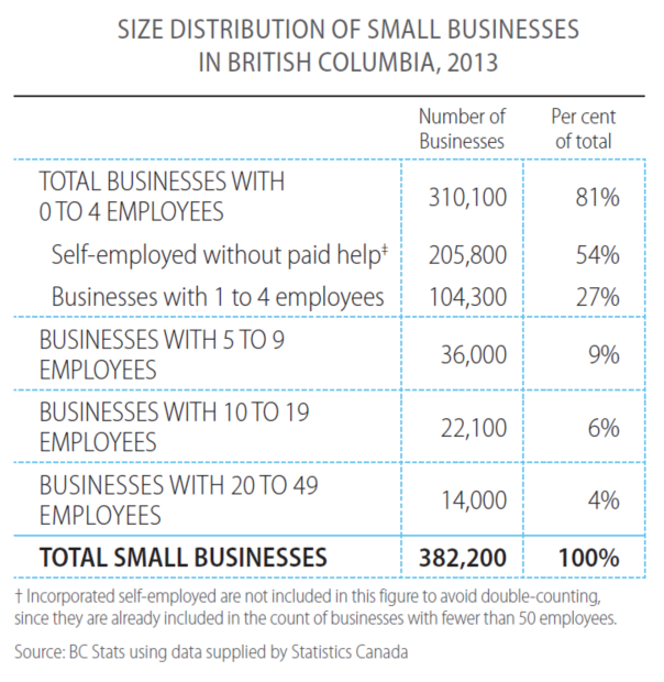 Smal Business Profiles 2013